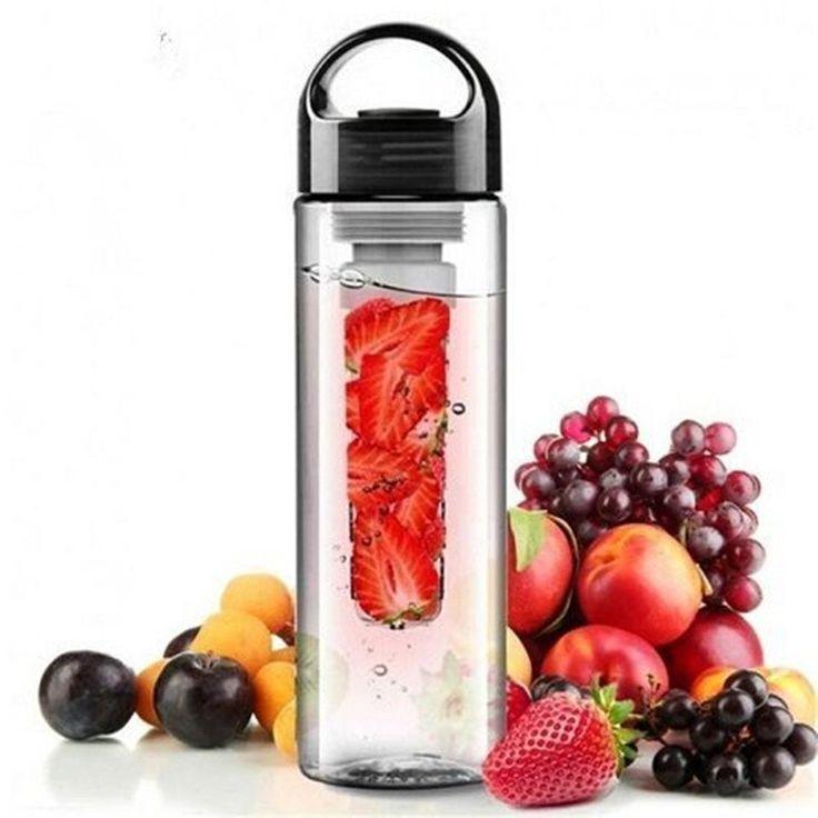 Plastic Fruit Infuser Water Bottle