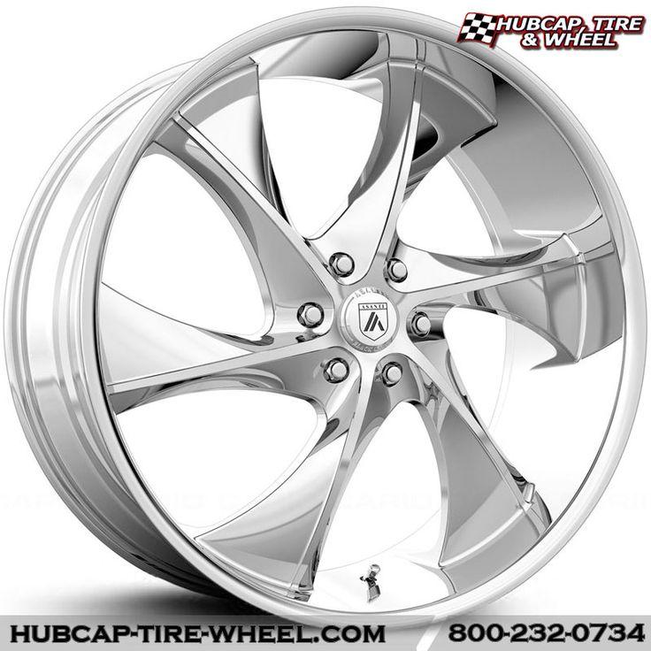 Asanti Black Label ABL-17 Chrome Wheels Rims