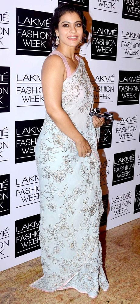Kajol at the Lakme Fashion Week 2013 - Day 2. #Bollywood #Fashion #Style #LFW