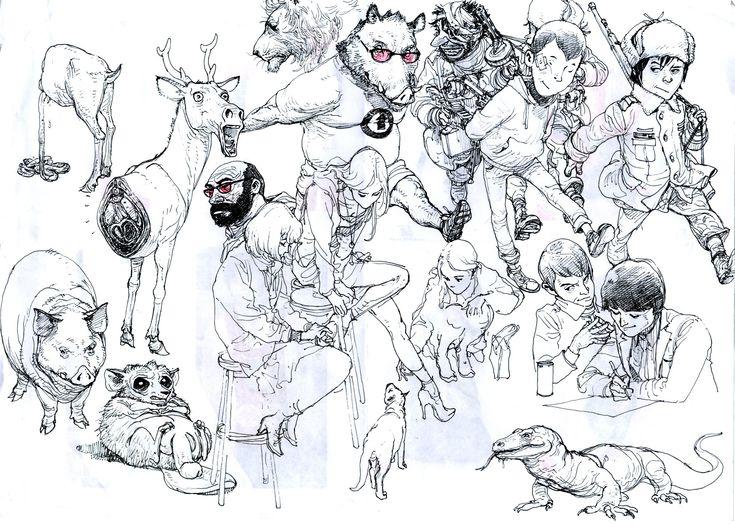 Kim Jung Gi - Illustratore e comic book artist coreano   Collater.al