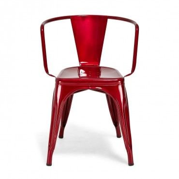 Outdoor Chair Comfortable And Durable Tolix Rouge A97