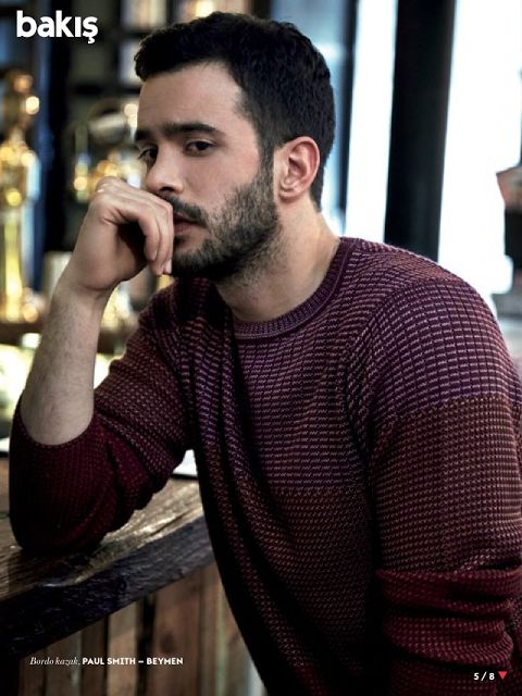 Barış Arduç - Vogue Turkey May,2015 - ElBar