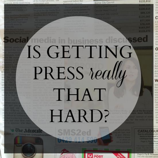 Is getting free publicity REALLY that hard? Here's an easy way to do public relations for your business. No more excuses!