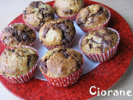 muffin chocolat speculoos