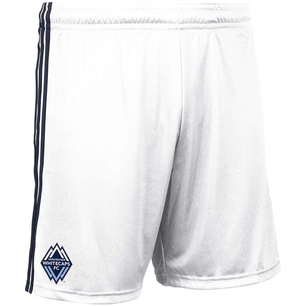 Men's Vancouver Whitecaps FC adidas White 2018 Shorts - $40
