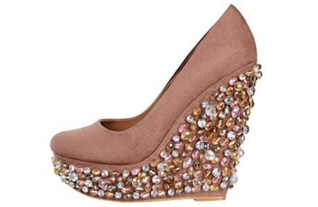 Embellished heel shoe £85 Miss Selfridge at Bullring