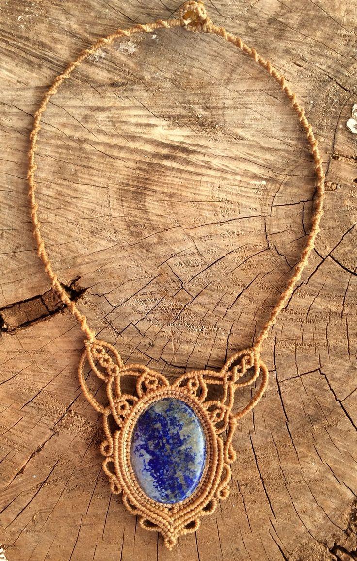 Necklace lapiz lazuli ❤️