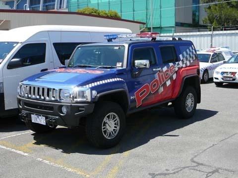 Victoria Police  Hummer H3