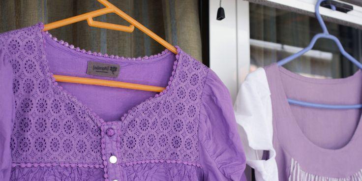 Μεταποίηση ρούχων ΙΙ: Από φόρεμα σε μπλούζα