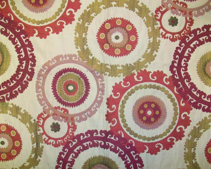 Beautiful Suzani fabric - #loveoftextiles