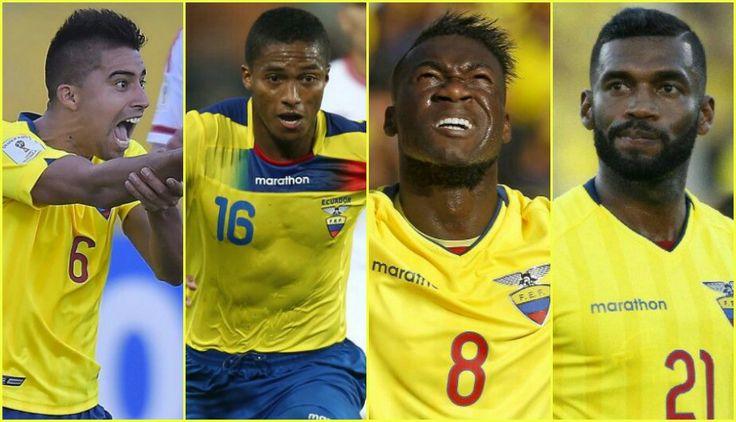 Con Caicedo & Valencia, Ecuador listo para enfrentar a