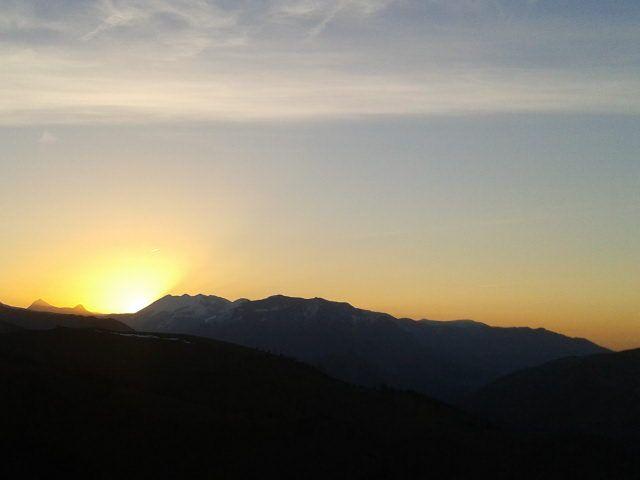 Coucher de soleil - Pyrénées