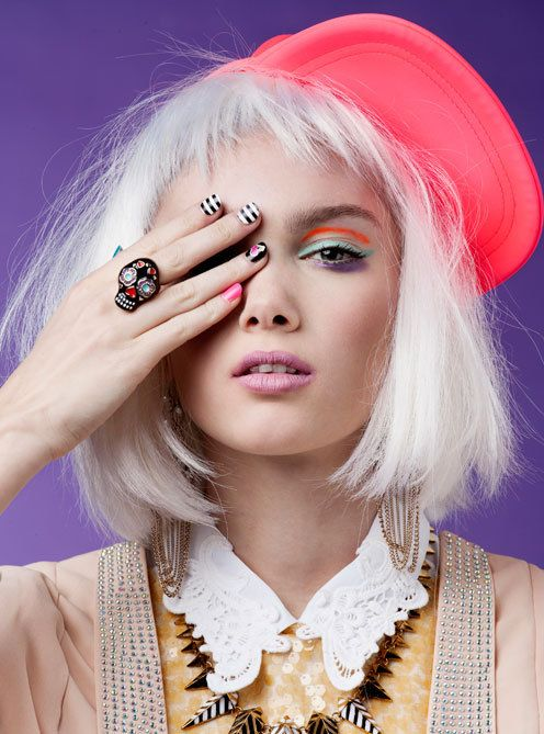 cosmo girl beauty editorial | 40 Impeccable Examples of Fashion Makeup Photography