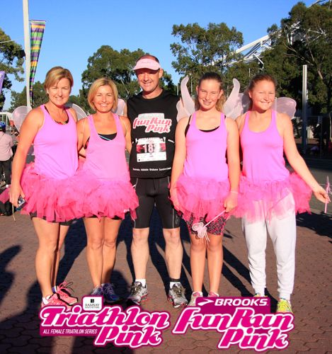 Fun for the whole family! #teampinkie #tripink #funrunpink