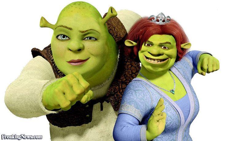 Shrek and Princess Fiona Swap Roles