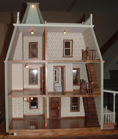 1000 Images About Doll House Renovation On Pinterest