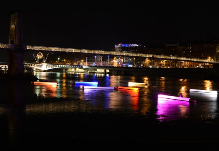 Surreal Light Installations at Lyon's Festival of Lights  France (or Fête des Lumières) kicked off on December 6th bringing with it dazzling light displays by artists from around the world.