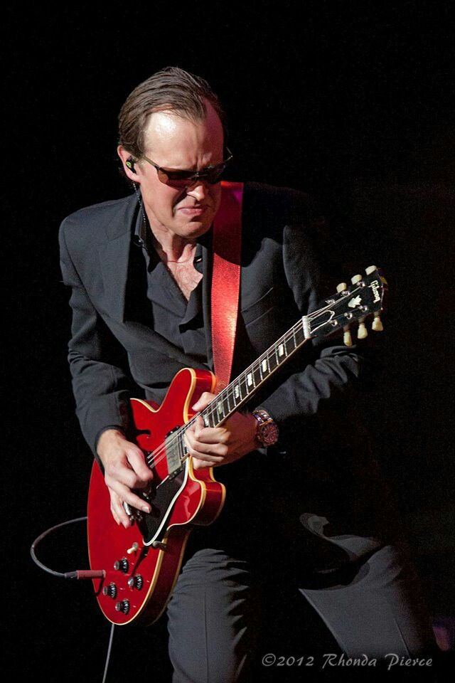 Joe Bonamassa...on my wishlist to see in person. He's coming to the Civic Center in April. I'm there.