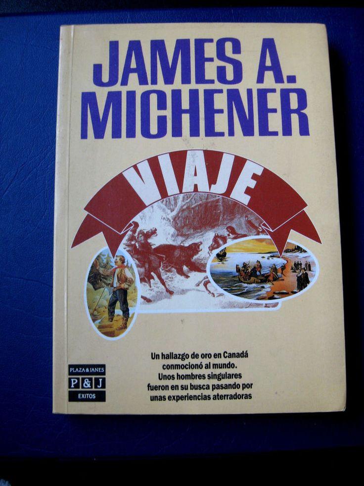 """James A. Michener  """"Viaje"""" Paperback Spanish Libro en Español"""