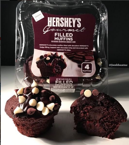 Hershey Gourmet Filled Muffins | Bakery/Bread Products ...