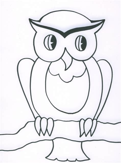 simple drawing silly owl yahoo image search results drawing