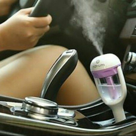 Car Humidifier Aromatherapy  Nanum 50ml Mini USB Aromaterapi humidifier Diffuser Charger Mobil dengan Pemurnian segar Fungsi Purple Warna  Deskripsi : Tegangan kerja: DC 12V Kapasitas Tangki air: 50ml Semprot Volume: 25ml / jam listrik: 1.5W-2W Bekerja sekarang: 130mah-150mAh Fitur: Aromaterapi kreatif humidifier Charger Mobil Menyegarkan udara Lunasi Static Mensterilkan 2 Jam Daya Perlindungan Anti-Kering Gunakan Ultrasonic atomisasi Teknologi 113KHz Frekuensi membuat air menjadi 6um tetes…
