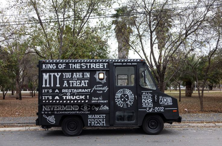 El Camino food truck branding by Savvy-Studio - The Fox Is Black