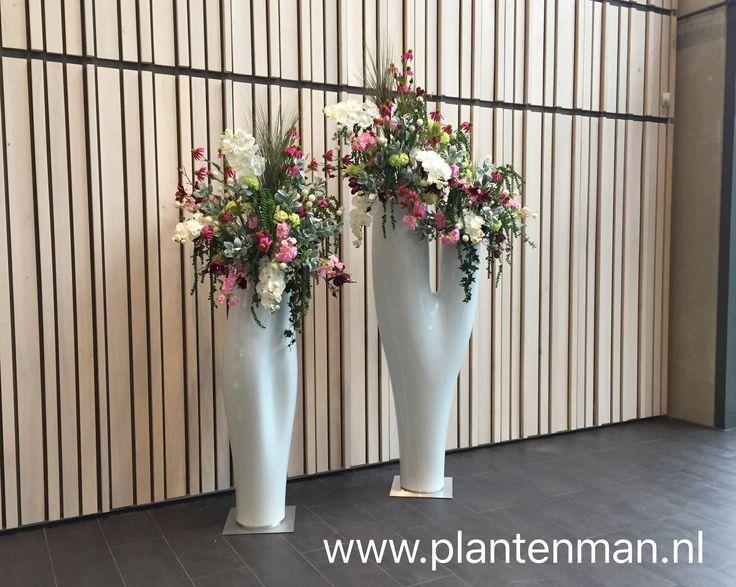 34 beste afbeeldingen van kunstbloemen entree - Moderne entree decoratie ...