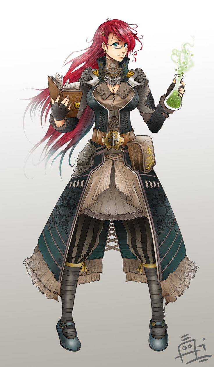 Annabelle Stanford an alchemist who sells materials to both The Syndicates and The Renegades but has no knowledge of their activities.