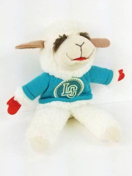 Vintage Lamp Chop and Friends Lamp Chop Puppet Blue Sweater | Lamb Chop Doll | Sherri Lewis | Hand Puppets | Kids Puppets | Vintage Kids