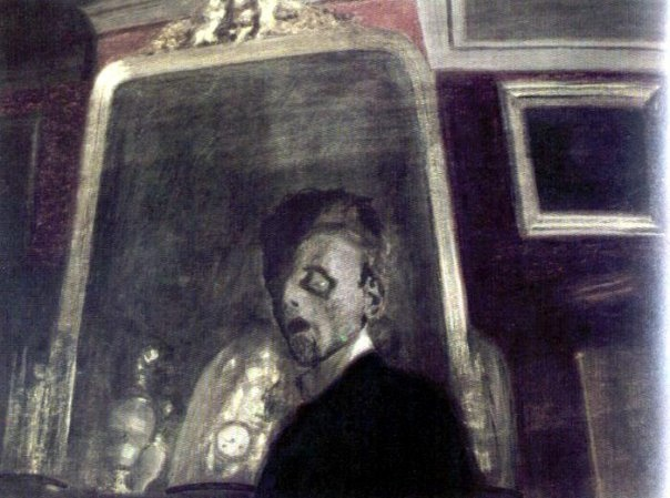 Léon Spilliaert, Self-Portrait, 1908