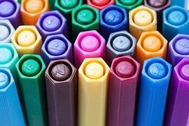 Renkli Kalemler, Keçeli Kalemler, Renk