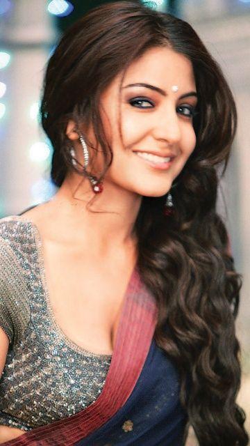 makeup; hair; saree; blouse