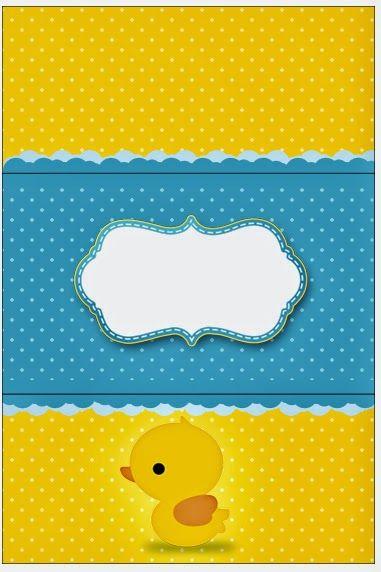 Patito de Goma: Etiquetas para Candy Bar para Imprimir Gratis.