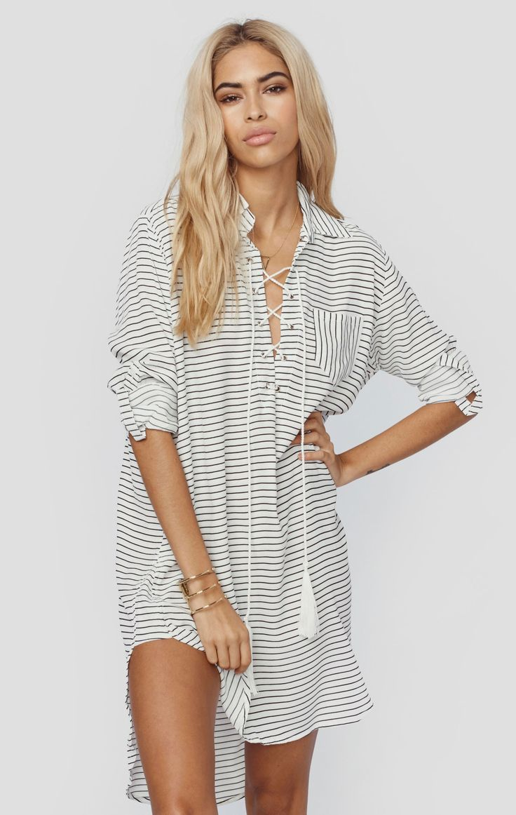WALKER SHIRT DRESS | @ShopPlanetBlue