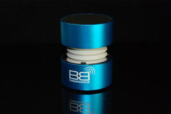 BassBoomz Azul, coluna portátil bluetooth | 44,75€