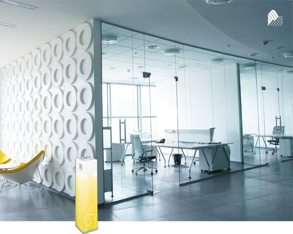 Technika dyfuzji wraz z nawiewem – odpowiedni zapach z postaci płynnej mieszanki przekształca się w mikro mgiełkę o wielkości cząsteczek mniejszych niż jeden mikrometr. Wytworzony zapach z ogromną łatwością łączy się z cząsteczkami powietrza i przy pomocy bezszelestnego wentylatora rozchodzi się na bardzo dużych  powierzchniach co powoduje, że zapach nie opada i długo utrzymuje się w powietrzu.