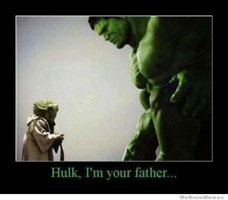 XDGeek, Dreams Big, Yoda, Funny Stuff, Stars Wars, Humor, Hulk, Things, Fathers