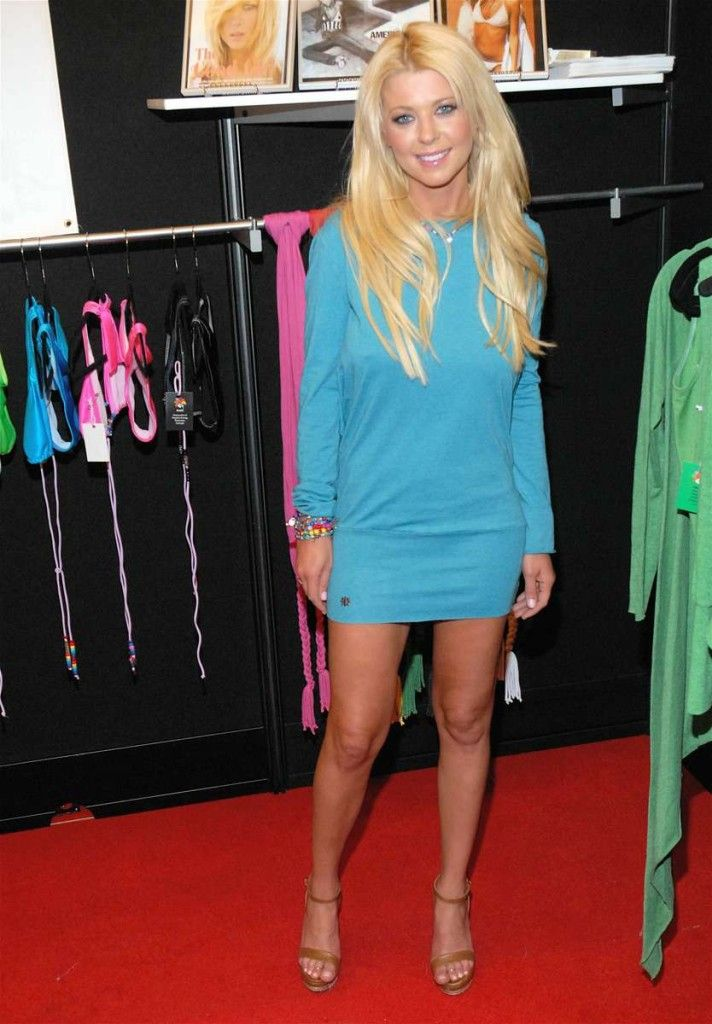Tara Reid looking hot in a little blue dress. ... # ...