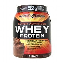 Body Fortress Whey Protein Powder Chocolate. Goes on sale for $14.99 at Walgreens