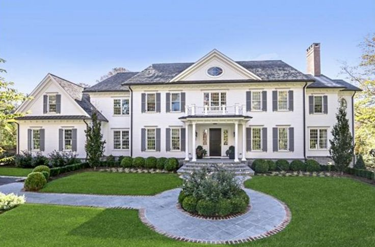 $3.995 Million Newly Built Colonial Mansion In Ridgefield, CT