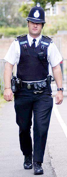 "Policeman.  Bobby (""peeler"")"