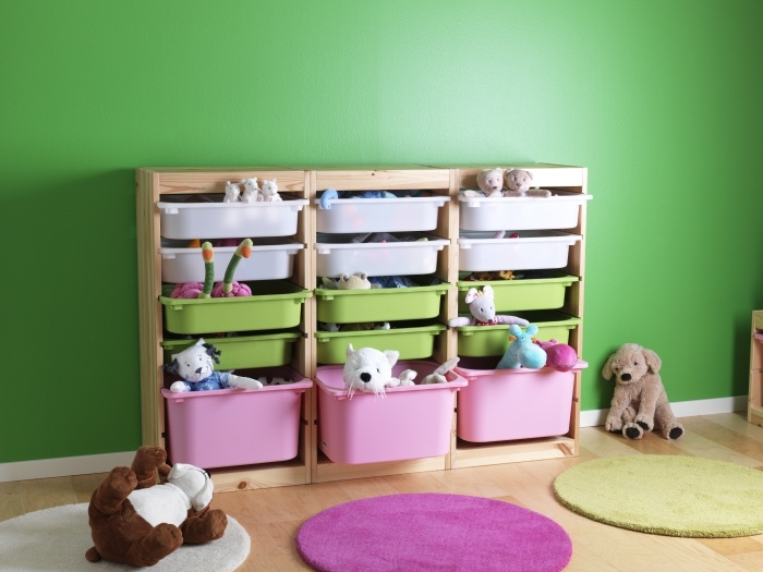 The TROFAST Storage System Is A Great Way To Store Away All Your Childrenu0027s  Toys!