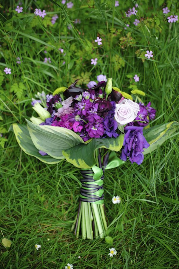 Of All Purple Wedding Flowers Photo By Top Portland Oregon Wedding