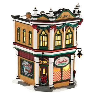 43 best lionel trains houses dept 56 images on pinterest department 56 original snow village sophias pizzeria lit house 748 inch publicscrutiny Image collections