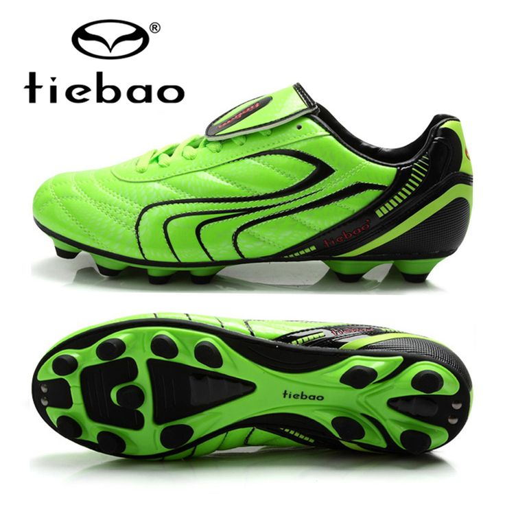TIEBAO Professional Adult chuteira futebol Soccer Shoes AG Soles Football Boots For Men Women Sneakers voetbalschoenen