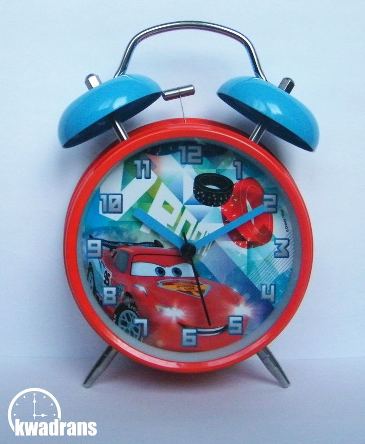 Original DISNEY clock for kids - CARS alarm clock with Lightning McQueen #watch #disney Oryginalny zegarek Disneya dla dzieci - Budzik Auta z Zygzakiem McQueenem