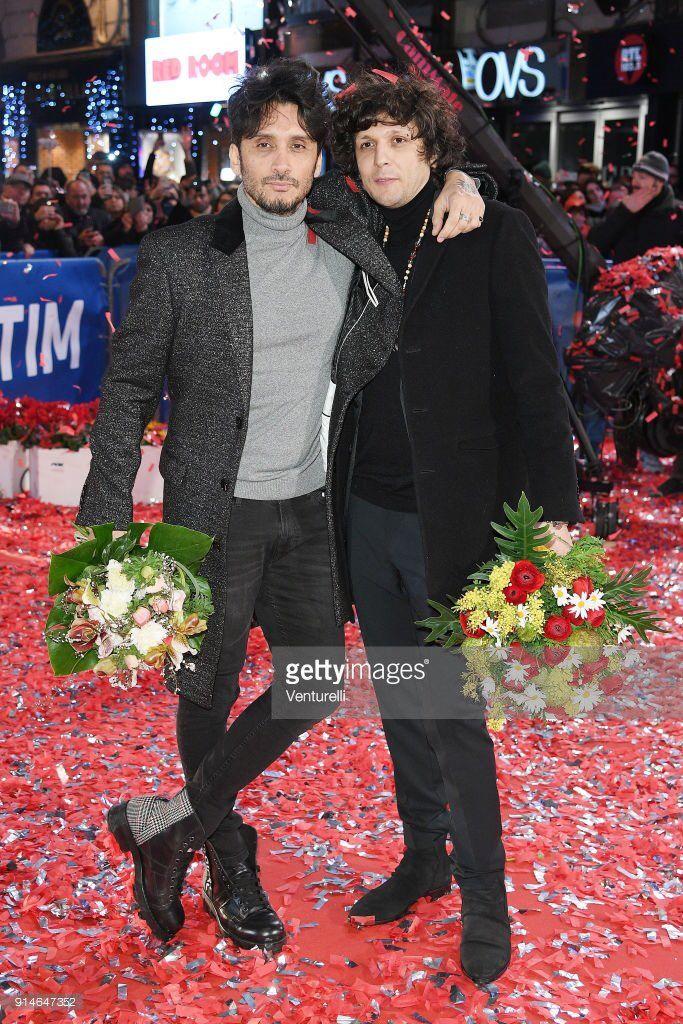 red carpet Sanremo 2018