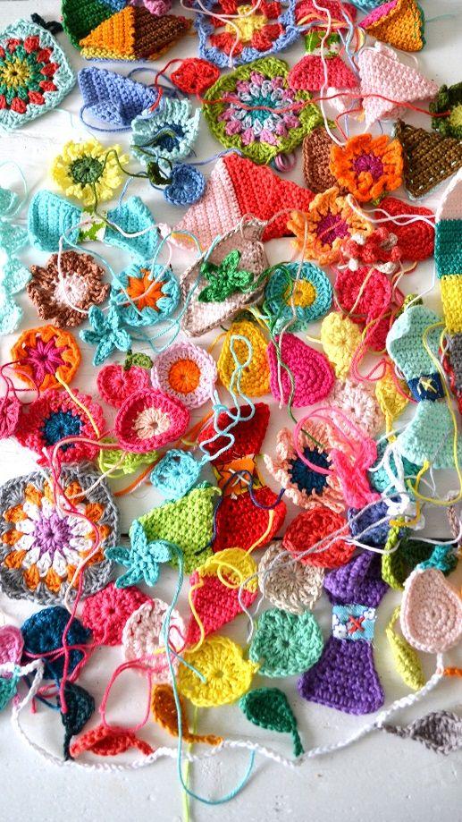 crochet leftovers