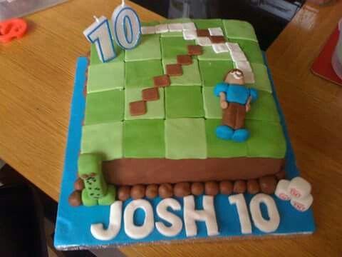 Sons minecraft cake